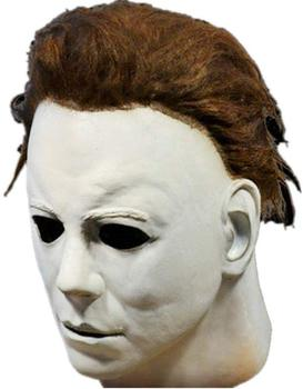 Halloween Horror Masks Party Cosplay White Face Scary Masque Masquerade Mascara Terror Masker Latex for