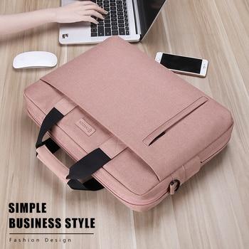 Laptop Bag case 13.3 14 15.6 17.3 Inch Waterproof Notebook Bag for Macbook Air Pro 13 15 Computer Shoulder Handbag Briefcase Bag 1