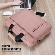 Bolsa para notebook macbook air pro, bolsa para laptop 13.3 14 15.6 17.3 à prova d'água para notebook 13 15 saco do saco
