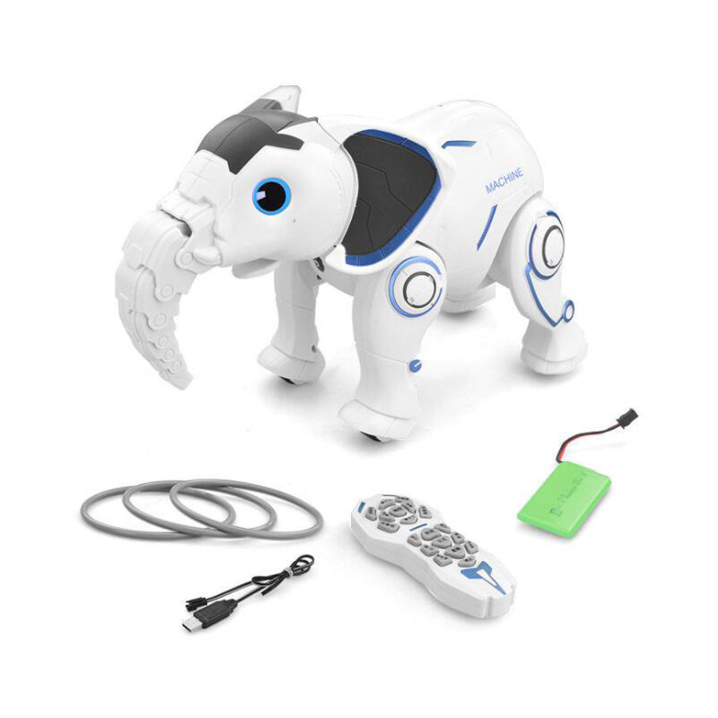 Wireless Elephant Robot Interactive Children Toys Singing/Dancing Remote Control Elephant Robot  RC Smart Early Education Gifts