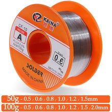 0.6/0.8/1/1.2/1.5mm 2.0% 45ft estanho chumbo fio de estanho fusão rosin núcleo solda fio de alta pureza estanho fio de solda rolo 63/37