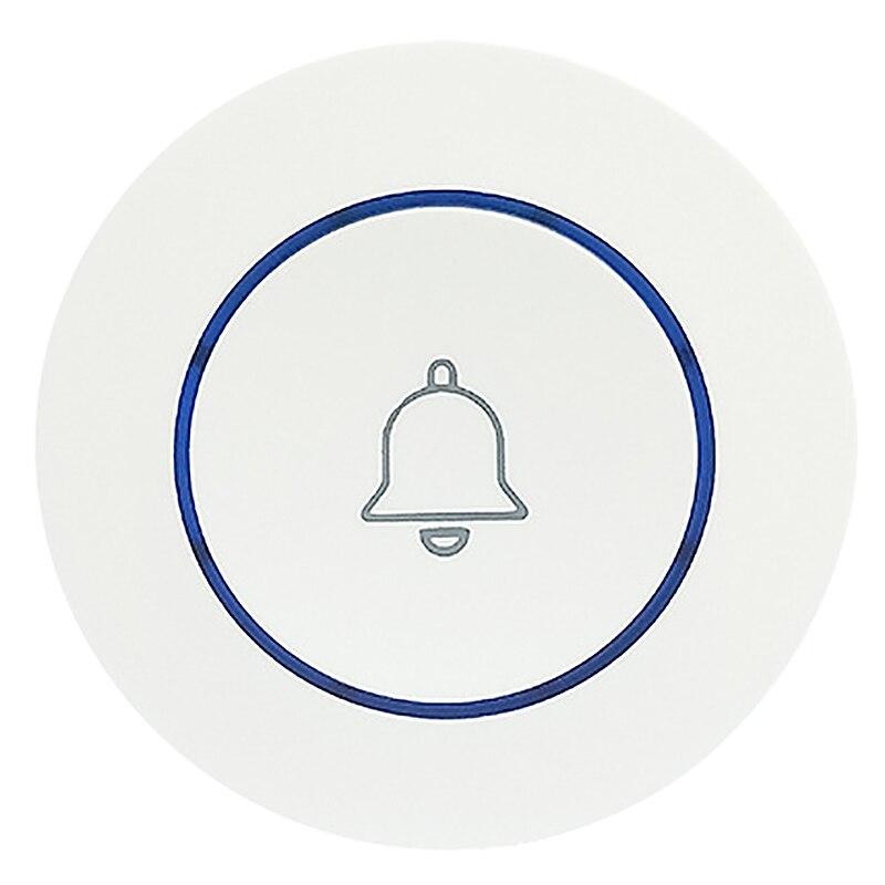 M6 Doorbell Outdoor Button Wireless Doorbell Smart Wifi Doorbell Home Alarm Smart Doorbell Wireless 433 Doorbell