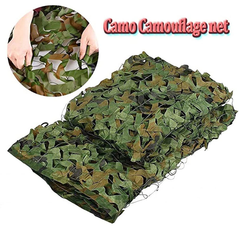 Military camouflage nets, shade nets, shade sails, suitable for decoration of camps and courtyards and various places-0