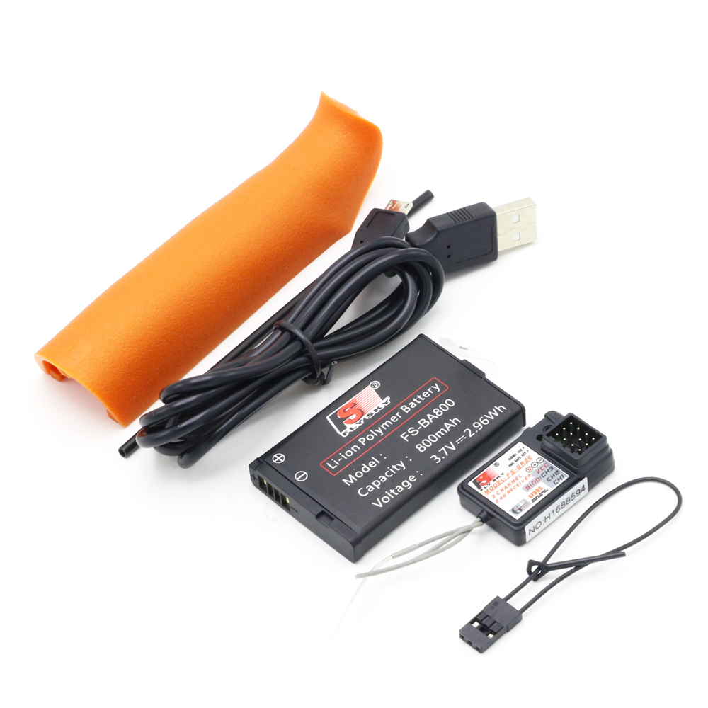 Flysky FS-GT3C FS GT3C 2.4G 3CH système de voiture RC/w batterie GR3E récepteur Radio contrôleur - 3