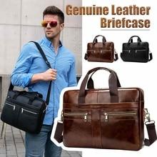 Osmond мужской портфель из натуральной кожи, мужская сумка для ноутбука из натуральной кожи, мужские сумки-мессенджеры, мужской портфель s
