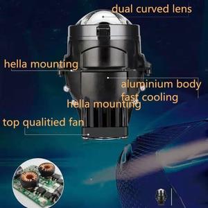 """Image 2 - Dland Riêng Lpl Bi Led Máy Chiếu Laser Ống Kính 3 """"Biled Cực Chùm Thấp Và Đèn LED Laser Giúp Việc Cao chùm Tia"""