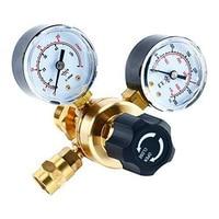 Brass Tool Pressure Control Equipment Easy Reading Argon Regulators Universal Gas Welding Industrial CO2 Gauges Accessories