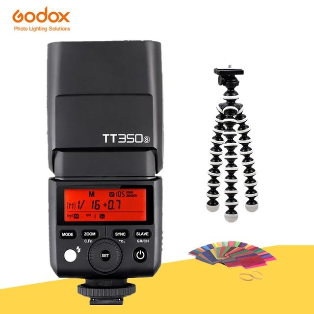 Đèn Flash GODOX Mini TT350S TTL HSS 2.4GHz Đèn Flash Máy Ảnh TT350 + X1TS Kích Hoạt Cho Sony A6000 A6500 Máy Ảnh Mirrorless Máy Ảnh Dslr a7 Serie Máy Ảnh