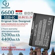 5200 mAh แบตเตอรี่แล็ปท็อปสำหรับ ACER Extensa 5210 5220 5230 5420 5610 5620 5630 7220 7620 สำหรับ TravelMate 5320 5520 5530 5710 GRAPE32