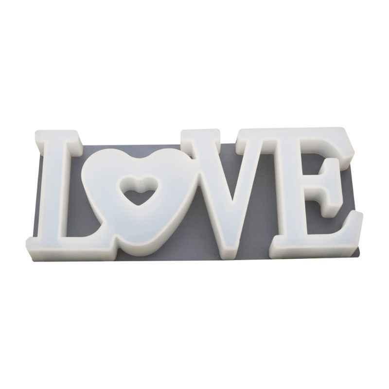 قلادة يدوية الصنع الحرفية لتقوم بها بنفسك الكريستال الايبوكسي الحب شكل قلب قالب مرآة عالية قوالب لتقوم بها بنفسك الكريستال الايبوكسي