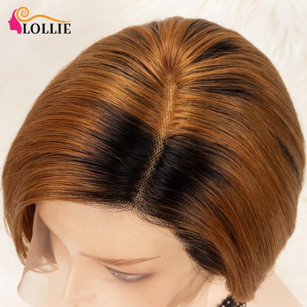 peruca brasileira em linha reta peruca dianteira