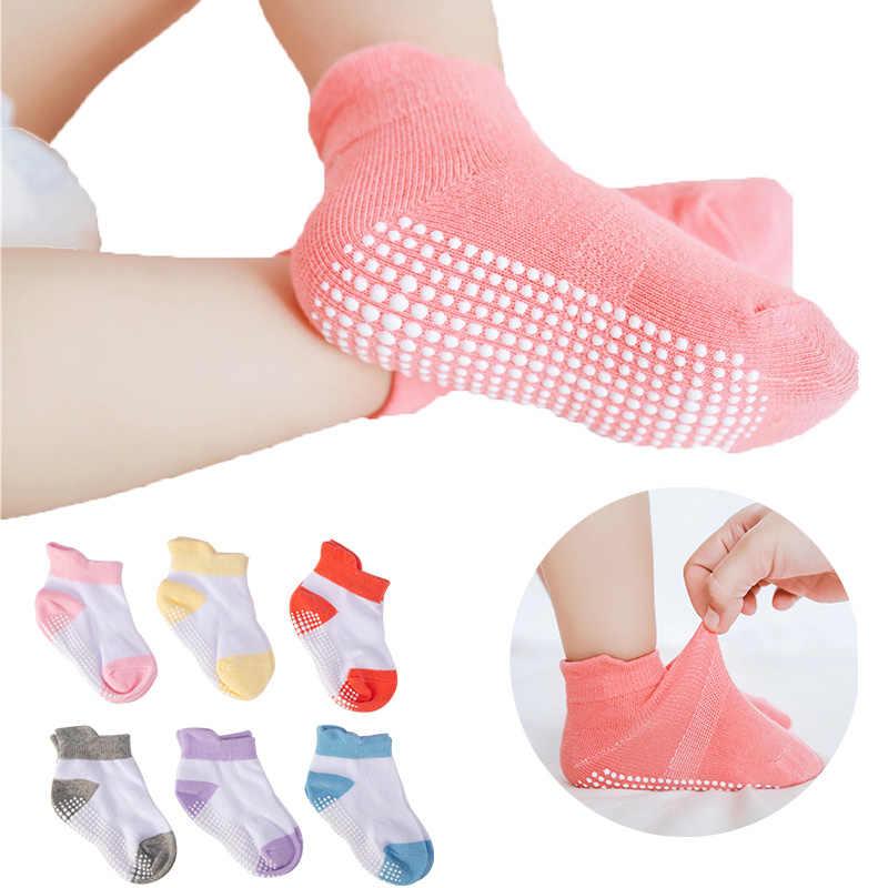 6 Pairs Children/'s Socks Early Education Cotton Baby Floor Socks Boys Girl Short