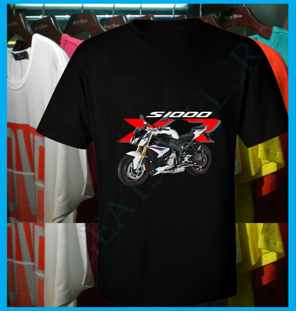 New German Motorcycle Motorrad S1000XR Motobike Logo Performance Racing T Shirt image