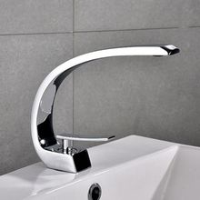 New Bath Basin Faucet Brass Chrome Brush Nickel Sink Mixer Tap Vanity Hot Cold Water Bathroom Faucets