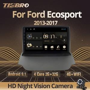 TIEBRO 2din Android 9.0 Car Radio For Ford Ecosport 2013 2014 2015 2016-2017 Car Multimedia Player Auto Radio Stereo Car DVD