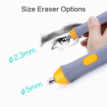 Erasers Rubbers-Art Electric Mini Pencil Mechanical Kids Stationery School-Supplies Drawing