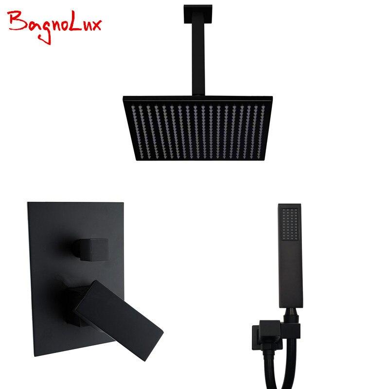 Bagnolux Premium Qualität Messing Schwarz Badezimmer 8