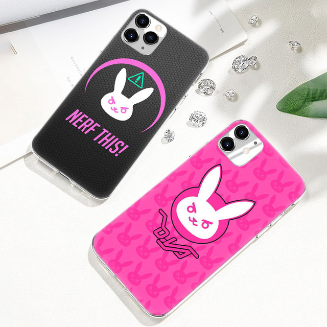 Hot Overwatch ow Game Soft Silicone Transparent Case for Apple iPhone 11 Pro XS Max X XR 6 6s 7 8 Plus 5 5s SE Fashion Cover 1