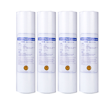 цена на New 4pcs PP Cotton Filter Water Filter Water Purifier 10 Inch 1 Micron Sediment Water Filter Cartridge System Reverse Osmosis