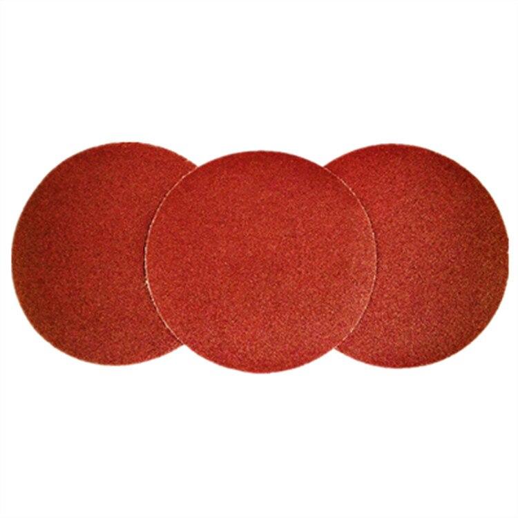 5-Inch Bei Rong Disc Sandpaper 125 Qi Mo Flocking Sandpaper Pieces Furniture Primer Polishing Disc Sandpaper Factory
