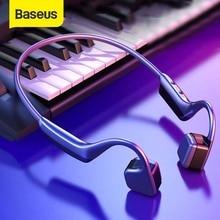 Baseus BC10 עצם הולכה Bluetooth אוזניות אלחוטי IPX5 עמיד למים Bluetooth 5.0 אוזניות Ultralight Hifi אוזניות אוזניות