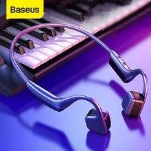 Baseus BC10骨伝導bluetoothイヤホンワイヤレスIPX5防水のbluetooth 5.0ヘッドセット超軽量ハイファイヘッドホンイヤフォン