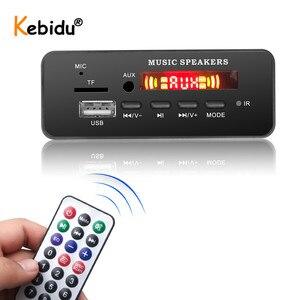 Image 2 - DC 5V 12V Bluetooth 5.0 MP3 WMA ถอดรหัสคณะกรรมการโมดูล USB SD/TF AUX FM Call RECORDING เสียง MP3 สำหรับรถยนต์ DIY