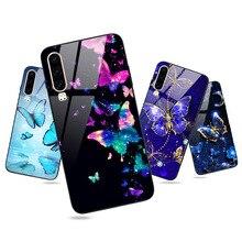 For Huawei P30 Pro Lite P20 Pro P20 P10 P9 Lite 2016 Case Butterfly Glossy Cover P Smart 2019 2018 Plus NOVA 3i 2i Hard Case