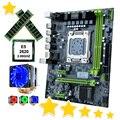 HUANANZHI X79-6M материнская плата со скидкой X79 материнская плата с ЦП Xeon E5 2620 с 6 тепловыми трубами кулер RAM 32G (2*16G) RECC