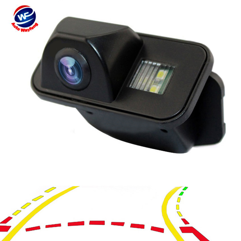 Car Dynamic Trajectory Reverse Backup Rear View Camera For Toyota Corolla Auris Avensis T25 T27 Vehicle Tracks Parking Camera