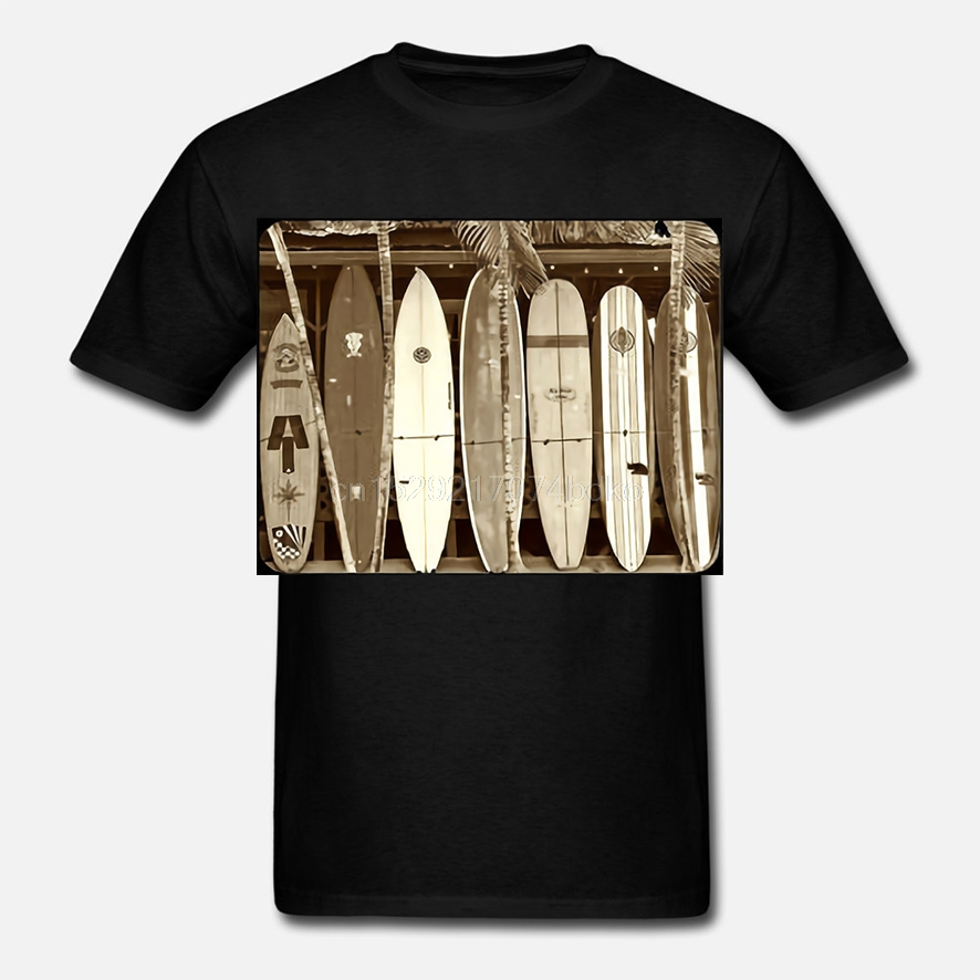 Surfing Vintage Vagabond Surfboards Decal T-Shirt