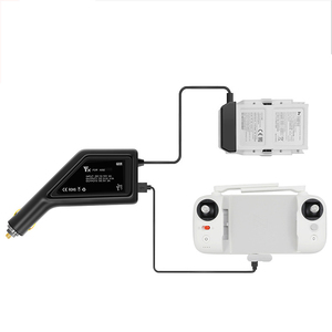Image 2 - Araç şarj cihazı pil denetleyici açık hızlı araba USB portu şarj aynı anda adaptörü konektörü XIAOMI FIMI X8 SE aksesuarları