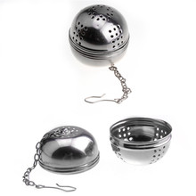 Stainless Steel Ball Tea Infuser Mesh Filter Strainer Loose Tea Leaf Spice Home Kitchen Accessories