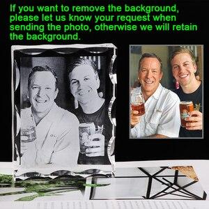 Image 2 - Foto Nach Kristall Foto Rahmen Personalisieren Laser Gravierte Foto Album Platz Bild Hochzeit Geschenk für Gäste Souvenir Geschenk