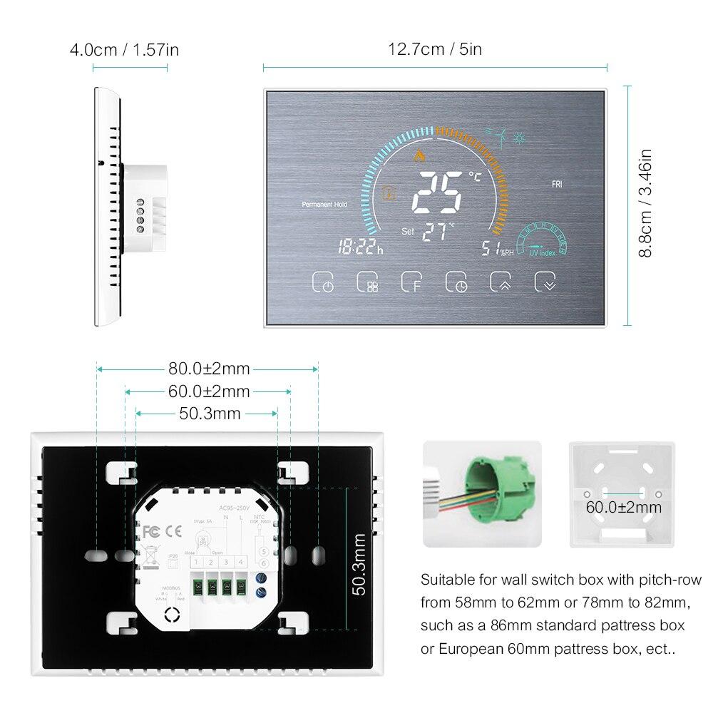 termostato termostato wifi controlador de temperatura programavel 04