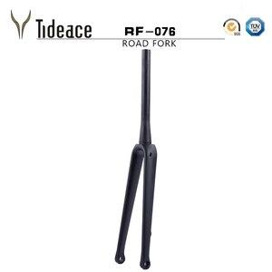 New bike fork road bicycle carbon Front Fork Superlight 700C carbon road fork disc brake carbon fiber Bike fork 1 1/2 tapered