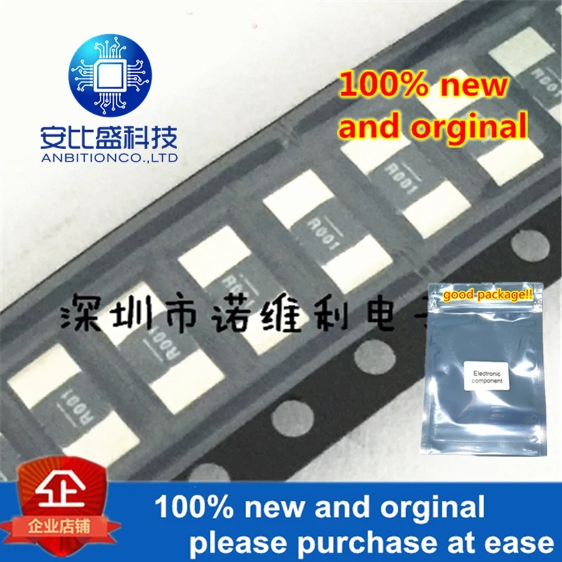 10pcs 100% New And Orginal WSL20101L000FEA18 2010 R001 0.001R 1% 1MR 1W In Stock