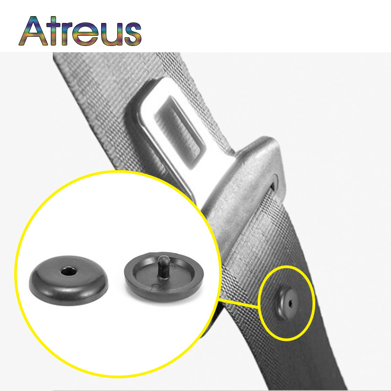 2sets Car Safety Seat Belt Spacing Limit Buckle Clip For BMW E46 E60 Ford Focus 2 Mazda 3 Volkswagen Polo Golf 4 Skoda Octavia