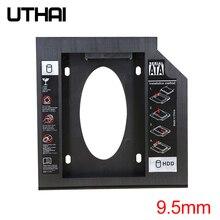 UTHAI T02 cd-rom диск SSD карман для жесткого диска ноутбука Внутренний корпус 2,5 дюймов SATA I II III жесткий диск HDD 9,5 мм/8,9 мм/9,0 мм SATA3