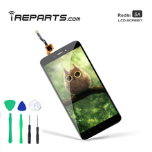 IREPARTS Display LCD for Xiaomi Redmi 5A Touch Screen Replacement Digitizer Pantalla + Free Tools Gift ireparts replacement display lcd for xiaomi redmi s2 y2 touch screen digitizer assembly free repair tools