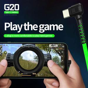 Image 3 - משחקי אוזניות סוג C G20 hammerhead בס אוזניות עם מיקרופון משחקי אוזניות עבור PUBG גיימר לשחק 2.2M wired אוזניות עבור טלפון