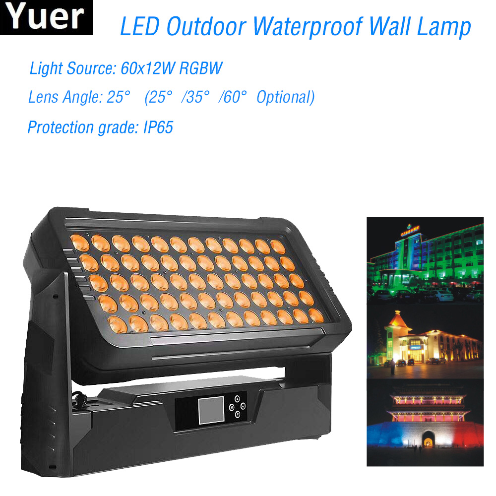 2019 New LED Outdoor Waterproof Wall Lamp IP65 Wall Lamp Modern LED Decorative Lighting  Large Performance Exhibition Wall Lamps