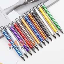 20 шт/лот горячая Распродажа рекламная шариковая ручка металлическая