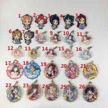 Anime LoveLive!Sunshine!! Acrylic rubber Keychain Key Ring Straps Rare cosplay