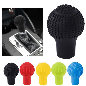 car Shift Knob Cover Silicone Gear Shifter for BMW E34 F10 F20 E92 E38 E91 E53 E70 X5 M M3 E46 E39 E38 E90 image