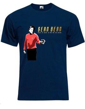 Sean Bean parodia Boldy morir donde ningún hombre ha muerto para hombre Camiseta Tee camiseta Top AG30