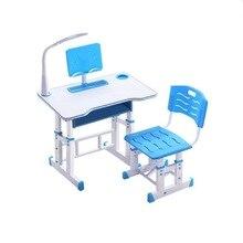 Многофункциональный детский учебный стол детский домашний стол эргономичный студенческий регулируемый стол и стул комбинация 80*49 см