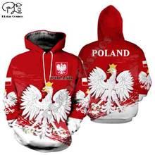 Plstar cosmos 3dprint polónia polinésia tribal nova moda unisex harajuku streetwear engraçado casual hoodies/moletom/jaqueta/z8