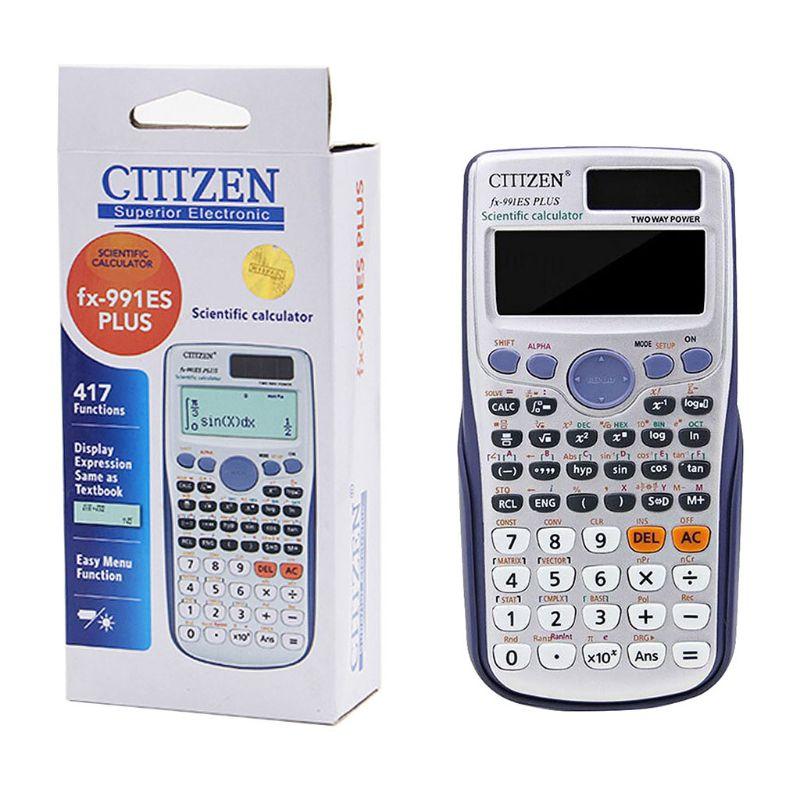 Многофункциональный научный калькулятор, вычислительные инструменты для школы и офиса, принадлежности для студентов, канцелярские подарк...