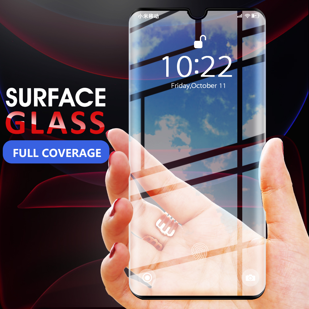 Full Curved Edge Tempered Glass For Xiaomi Mi Note 10 3D Screen Protector For Xiaomi Mi CC9 Pro New Protective Glass Film